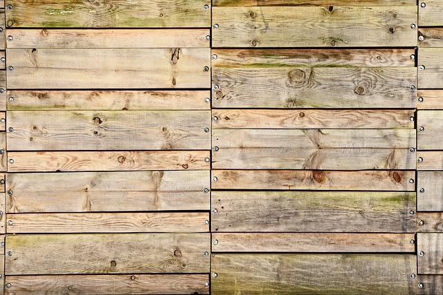 płoty drewniane ogrodowe