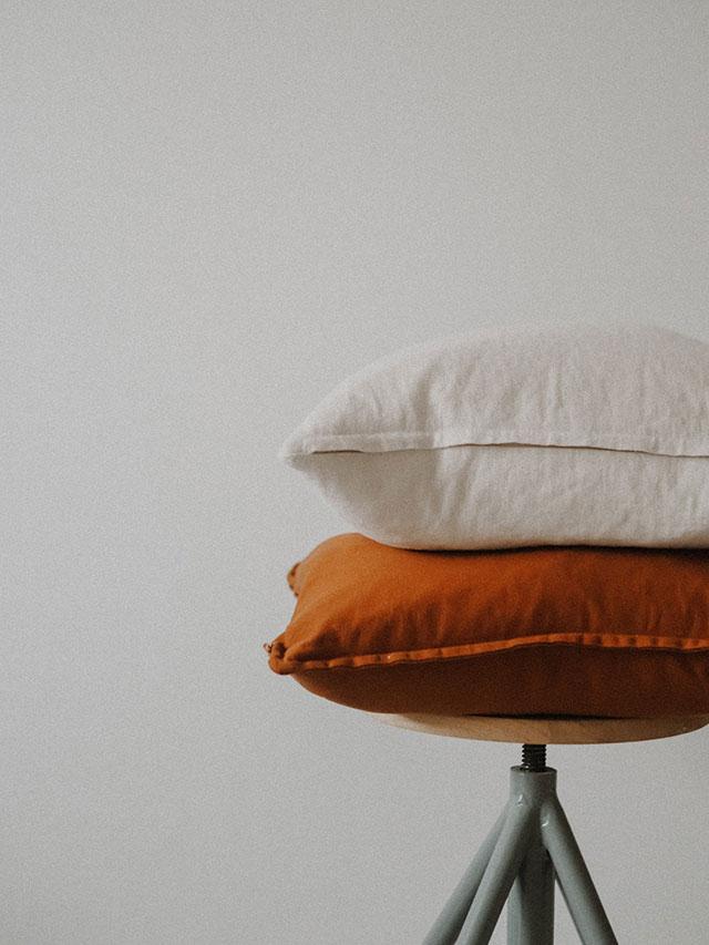 Poduszki z łuską gryki